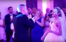 Wyjątkowa niespodzianka dla żony. Anglik zaśpiewał po polsku jeden z największych weselnych przebojów [WIDEO]