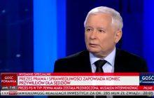Kaczyński wyjaśnia swoje emocjonalne wystąpienie: Kiedy to się stało, doszedłem do wniosku, że jednak pewna miara jest przekroczona [WIDEO]
