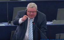Janusz Korwin-Mikke wyprowadził z równowagi niemieckiego europosła.