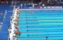 Odmówili pływakowi minuty ciszy. To co zrobił, podbiło serca kibiców! [WIDEO]