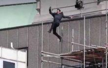 Tom Cruise nie chciał kaskadera. To musiało się tak skończyć! [WIDEO]