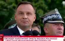 Mocne przemówienie Dudy podczas obchodów Święta Wojska Polskiego. Przytyk w stronę Macierewicza? Tak twierdzi część internautów