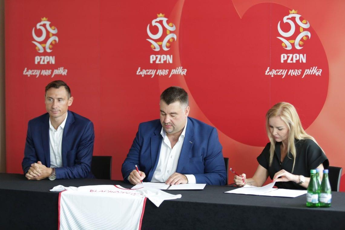Blachotrapez przedłuża kontrakt z Reprezentacją Polski [WIDEO]
