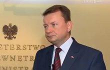 Grzegorz Schetyna zaatakował strażaków. Minister nie wytrzymał. Przed kamerami odpowiedział mu w ostry sposób.