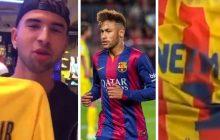 Dwa filmy podsumowujące transfer Neymara. Jak reagują fani PSG, a jak Barcelony? [WIDEO]