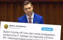 Rafał Ziemkiewicz wzburzył internautów. Wszystko przez wpis o wypowiedzi Patryka Jakiego.