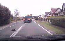 Kierowca ciężarówki specjalnie rozjechał psa? W sieci pojawiło się nagranie, internauci szukają świadków [WIDEO]