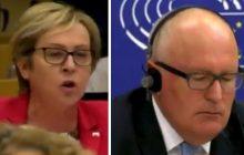 Ostre wystąpienie posłanki PiS w Parlamencie Europejskim. Powiedziała wprost, gdzie dziś znajduje się