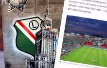 O oprawie Legii Warszawa mówi się nawet... w Brazylii! Fani