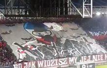 Skandaliczna oprawa na derbach Krakowa. Kibice Wisły oskarżani o gloryfikowanie morderstw [WIDEO]
