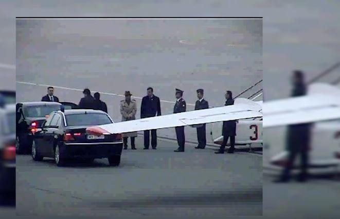 Dziennikarka publikuje zdjęcia wykonane przed wylotem rządowego tupolewa do Smoleńska. Pyta, kim są mężczyźni stojący na płycie lotniska [FOTO]