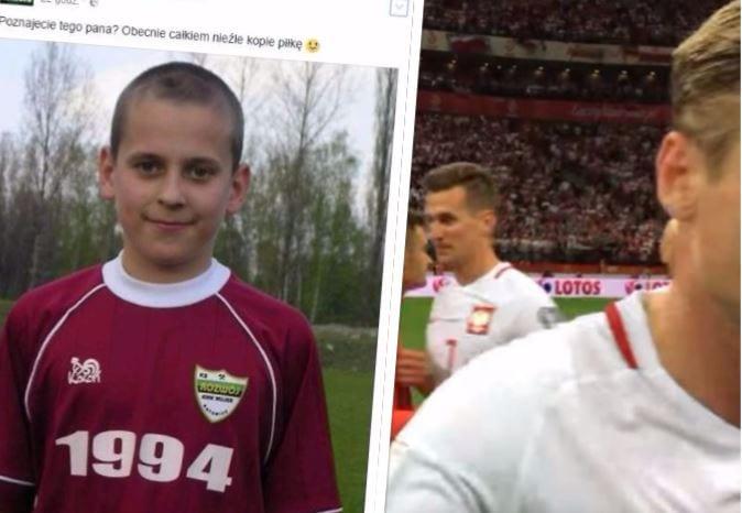 Poznajecie tego chłopaczka? W sieci pojawiło się zdjęcie z dzieciństwa zawodnika reprezentacji Adama Nawałki