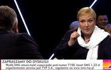 Europosłanka PO zaplanowała wyjście ze studia TVP Info? Prowadzący program opublikował jej wpis sprzed nagrania