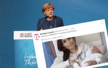 Małżeństwo syryjskich uchodźców nazwało córkę... Angela Merkel. Z wdzięczności dla niemieckiej kanclerz