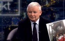 To zdjęcie Jarosława Kaczyńskiego błyskawicznie stało się hitem. Zdobywa szczyt w... pelerynie patriotycznej!
