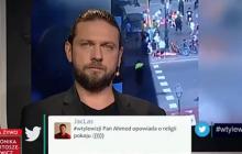 """Mocna wymiana zdań w studiu TVP. Wszystko zaczęło się od słów widza: """"islam jest religią pokoju"""" [WIDEO]"""