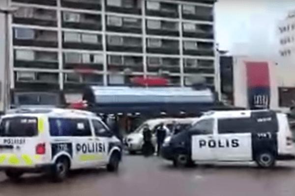 Finlandia: policja podała narodowość nożownika. Zamordował bezbronnych ludzi w centrum miasta