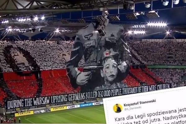 Legia zostanie ukarana za oprawę z okazji Powstania Warszawskiego! W internecie mobilizacja. Oprócz klubu pomoc otrzymają też powstańcy