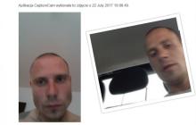 Włamał się do samochodu i ukradł tablet. Urządzenie podczas próby wpisania pinu zrobiło mu zdjęcie. Policja szuka