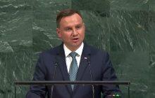 Prezydent Andrzej Duda o reparacjach: