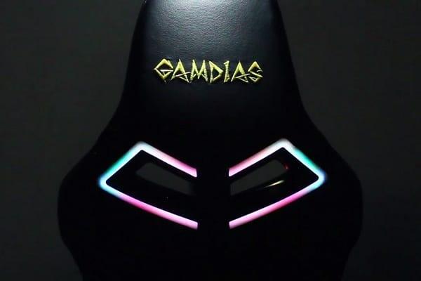 Gamdias przedstawia fotel gamingowy z podświetleniem RGB