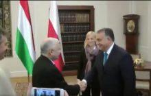 Spotkanie na szczycie! Tak Kaczyński powitał Orbana [WIDEO]
