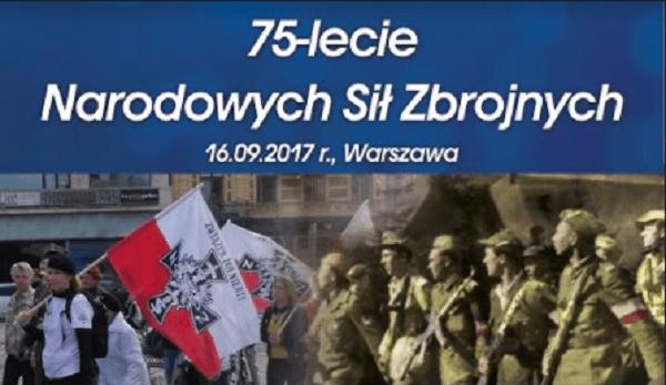 Warszawa: Uroczystości 75-lecia Narodowych Sił Zbrojnych