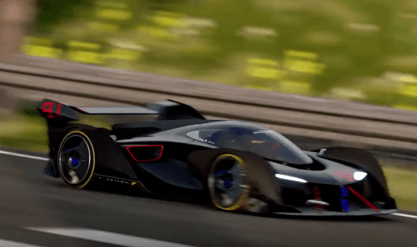 McLaren prezentuje samochód Ultimate Vision Gran Turismo zaprojektowany na potrzeby gry Gran Turismo Sport na PlayStation 4