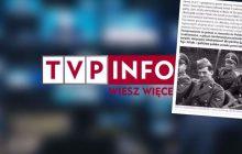 Portal tvp.info zamieścił artykuł o niemieckich reparacjach wojennych, jednak uwagę internautów przykuło co innego. Chodzi o pewną fotografię