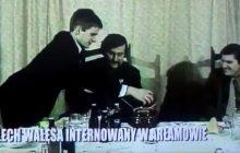 W sieci opublikowano nowe nagranie z udziałem Lecha Wałęsy. W takich warunkach był internowany w Arłamowie! [WIDEO]