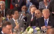 W sieci pojawiło się krótkie nagranie z bankietu podczas szczytu ONZ. Trump i Duda z kieliszkami szampana [WIDEO]