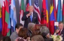 Zabawna sytuacja na przyjęciu z okazji szczytu ONZ. W ten sposób Donald Trump