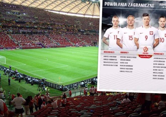 Adam Nawałka ogłosił pierwsze powołania na mecze z Armenią i Czarnogórą. Jest wielki powrót
