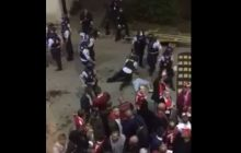 Duńska policja skatowała polskiego kibica! Brutalna pacyfikacja w Kopenhadze. Zdjęcie zakrwawionego mężczyzny obiegło sieć [WIDEO+FOTO]