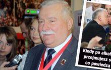 Tak zachowuje się były prezydent. Lech Wałęsa opublikował obrzydliwy fotomontaż. Kaczyński