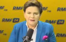 Po tym pytaniu od dziennikarza Beata Szydło zaniemówiła. Premier wprowadzona w spore zakłopotanie [WIDEO]