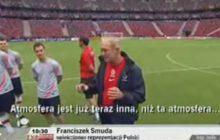 W ten sposób Franciszek Smuda motywował swoich piłkarzy podczas Euro 2012. Wyglądało to... średnio.