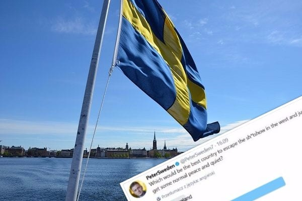 Zaskakująca sonda szwedzkiego dziennikarza. Polska wygrywa z miażdżącą przewagą!