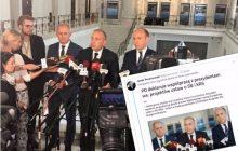 Radykalna zmiana zdania w ciągu 12 dni? Dziennikarz zestawił ze sobą dwie wypowiedzi liderów PO
