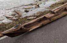 Po huraganie Irma, na brzegu znaleziono coś niezwykłego! Może mieć kilkaset lat