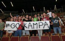 Klubowi koledzy wspierali Lukasa Kampę na Euro w Spodku