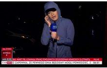 Korespondentka TVP próbowała relacjonować sytuację na Florydzie, ale... Irma była silniejsza. Przerwano transmisję [WIDEO]