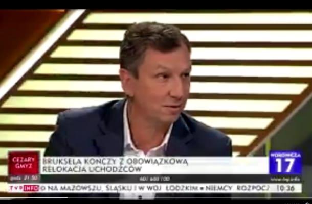 Wg Halickiego przyjazd imigrantów do Polski zablokowała... PO. Niedowierzanie i celna riposta [WIDEO]
