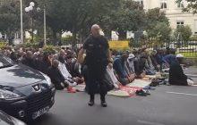Francja: Na środku ulicy nawoływał do