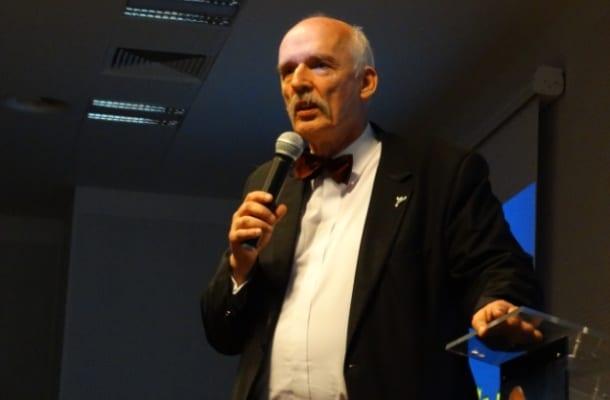 Janusz Korwin-Mikke zabrał głos w sprawie protestu lekarzy. Przedstawił radykalne rozwiązanie problemu