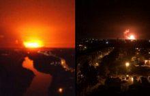Wielki pożar w składzie amunicji na Ukrainie. Ewakuowano tysiące ludzi. Spektakularne eksplozje! [WIDEO]