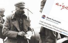 Tak wygląda logotyp 100. rocznicy odzyskania niepodległości. Autorem jest... marszałek Józef Piłsudski