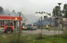 W Szwecji spłonął meczet.