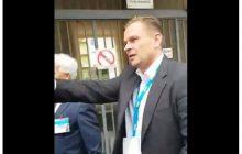 Pościg reportera za prezydentem Gdańska. Wszystko zostało nagrane [WIDEO]