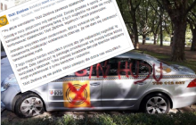 Jest oświadczenie taksówkarza, któremu zdemolowano samochód. Zastraszony mężczyzna zmuszony do zawieszenia działalności